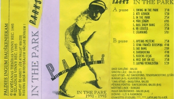"#53/100  ""Parks"" albums ""In The Park"" (1993)"
